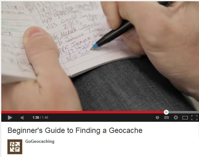 Exemple geocaching